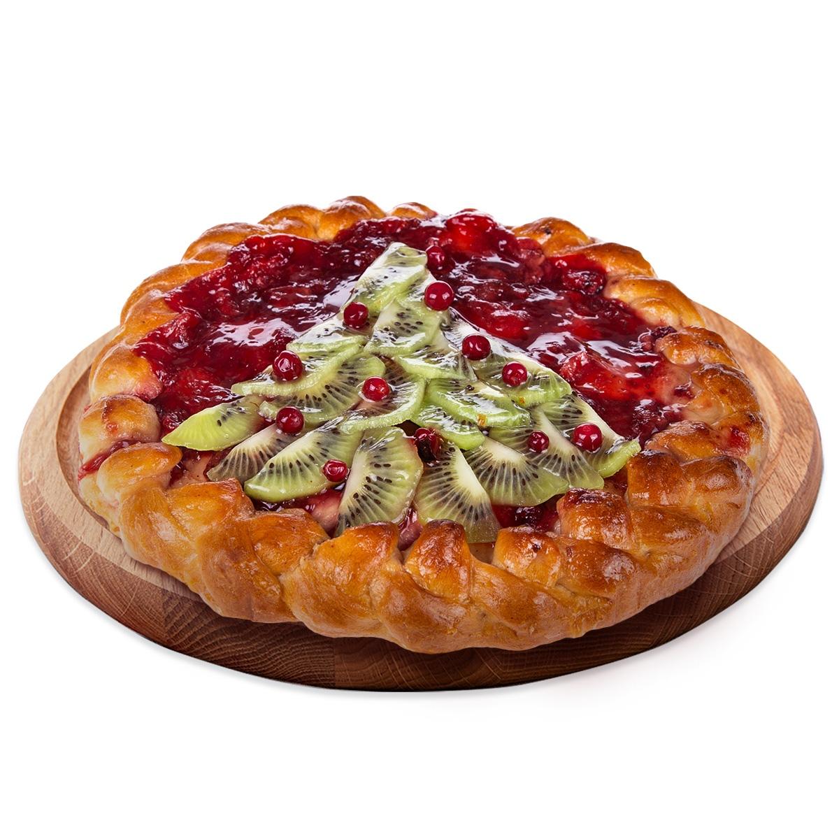 Пирог Фруктово-ягодный 450 г