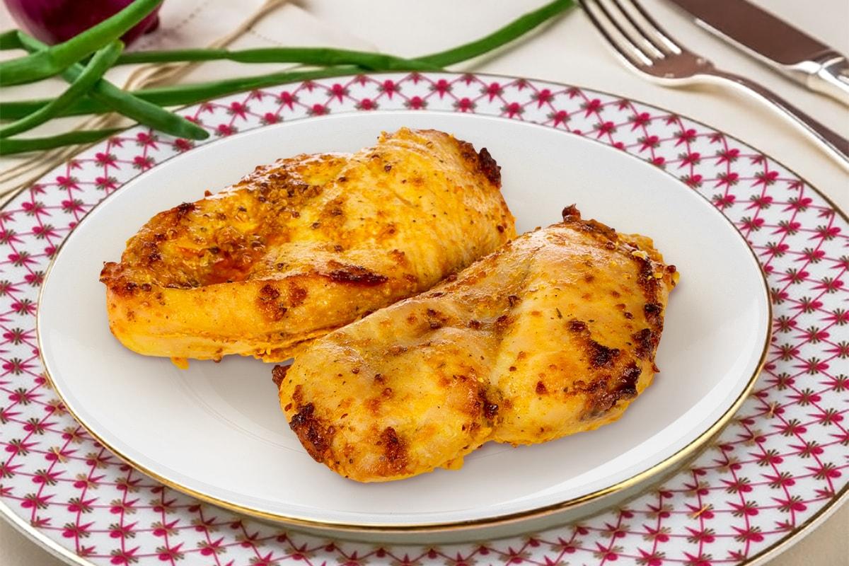 Филе куриное в горчично-сладком маринаде