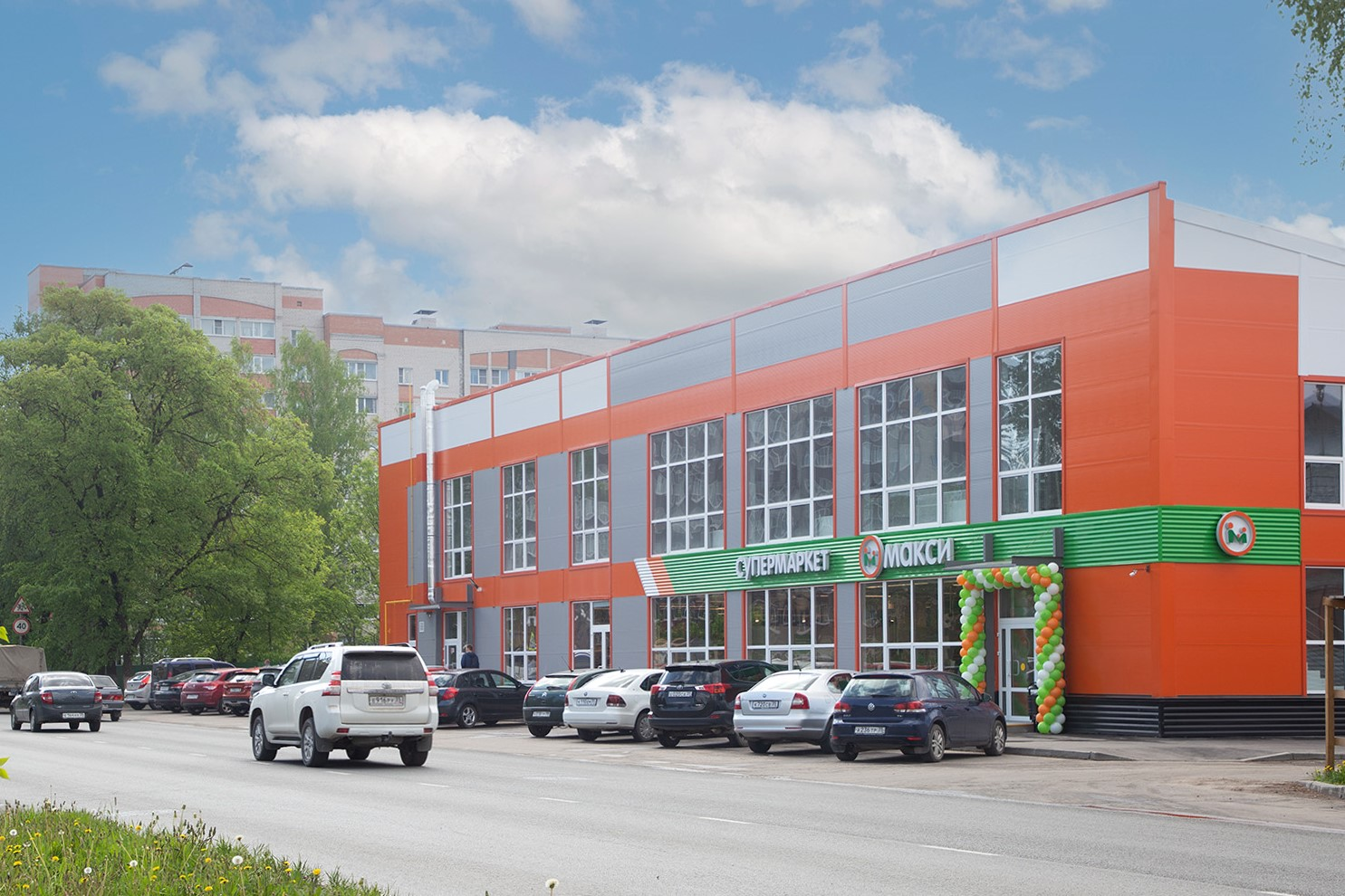 В Вологде открылся новый супермаркет