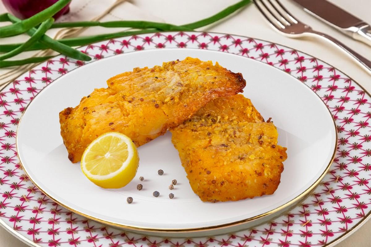 Филе трески в горчичном маринаде