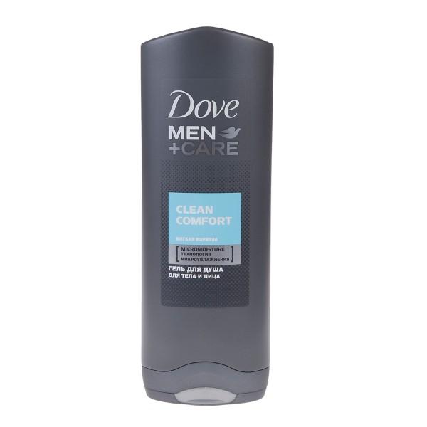 Гель для душа Dove Men care 250мл clean comfort