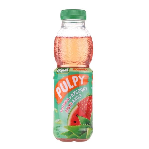 Напиток сокосодержащий Палпи Добрый 0,45л алоэ