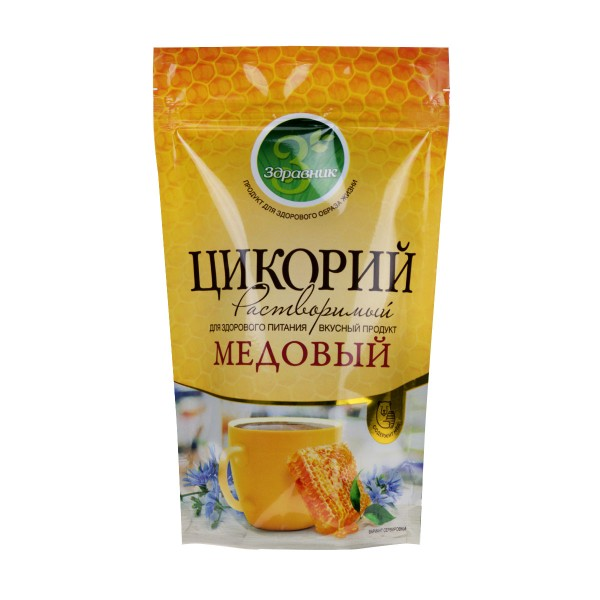 Цикорий растворимый  Медовый порошок Здравник  Славкофе 85гр