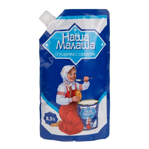 Продукт молокосодержащий сгущеный с сахаром Наша малаша 270гр