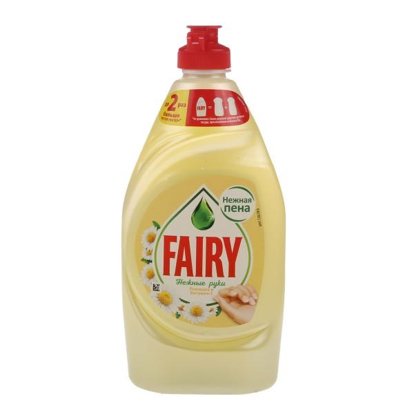 Средство для мытья посуды Fairy Нежные руки 450мл ромашка и витамин Е