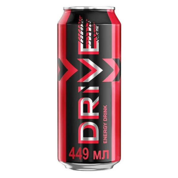 Напиток энергетический Drive me oridginal 0,449л клубника
