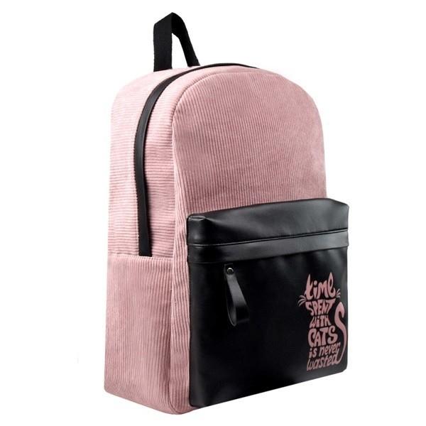 Рюкзак розовый Феникс+ 28х41х13см