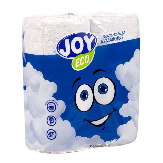 Полотенца бумажные Joy Eco 2 рулона
