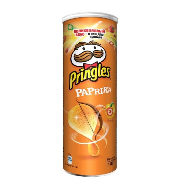 Чипсы Pringles 165гр paprika