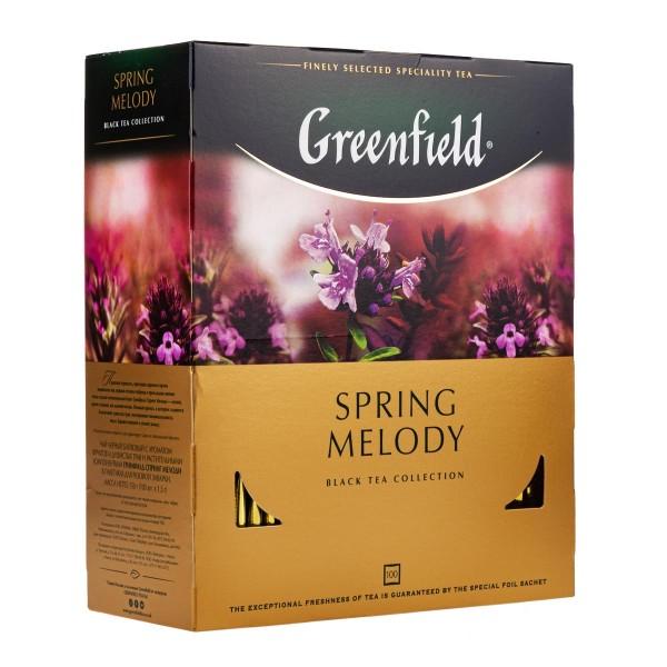 Чай черный Greenfield Spring Melody 100пак