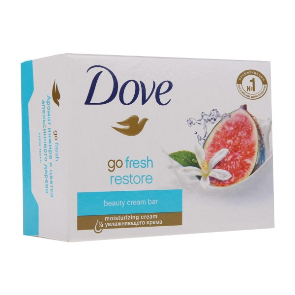 Крем-мыло Dove 135гр аромат инжира и цветка апельсинового дерева