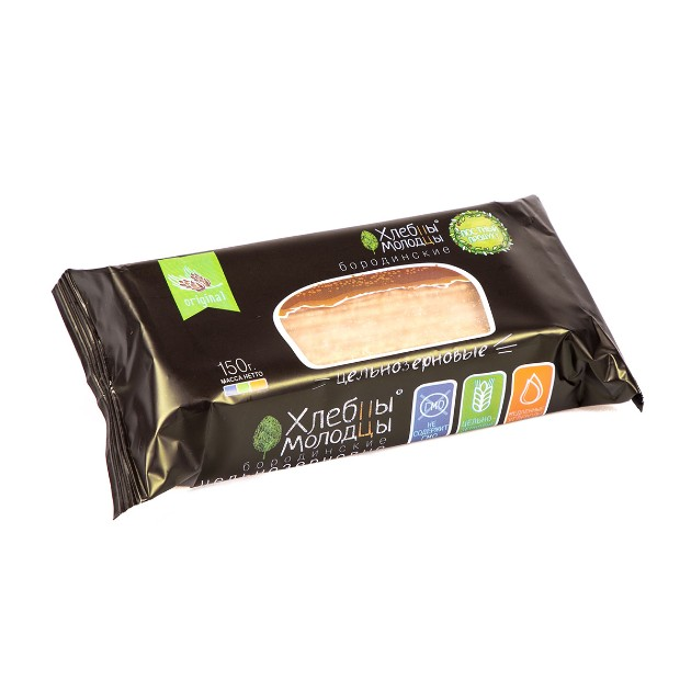 Хлебцы Хлебцы-молодцы 150гр бородинские