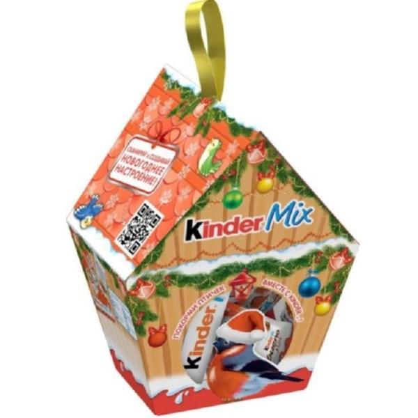 Подарок новогодний Kinder Mix Кормушка для птиц