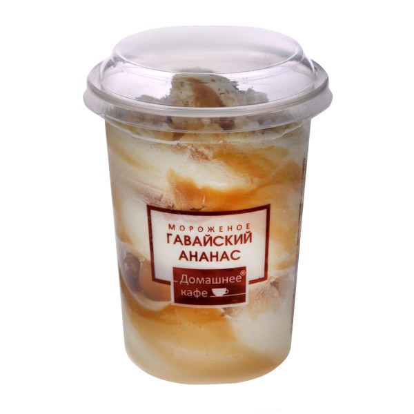 Мороженое Гавайский ананас Домашнее кафе 250гр