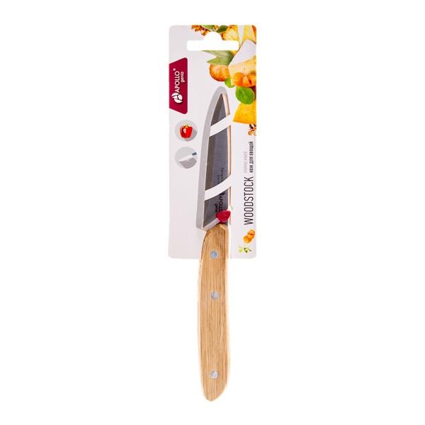 Нож для овощей Apollo Woodstock 8см