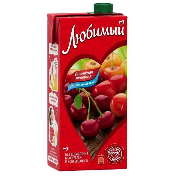 Напиток сокосодержащий Любимый 1,93л вишневая черешня