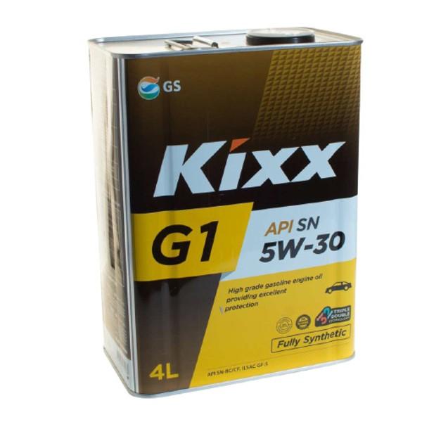Масло моторное Kixx G1  5W-30 SN/GF-5/RC/CF A3/B4 4л