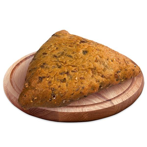 Пирожок зерновой с зеленым луком и яйцом 100гр производство Макси