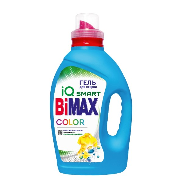 Гель для стирки Color BiMAX 1,3кг