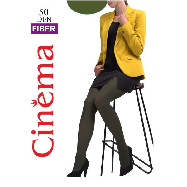 Колготки женские Cinema by Opium Fiber 50 den olive 2