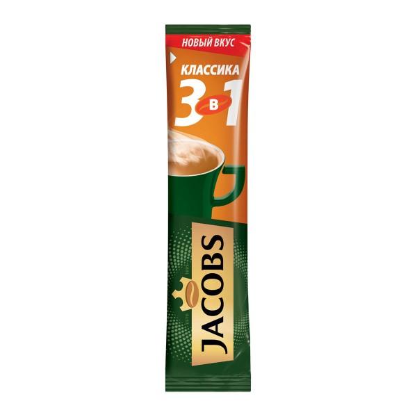Напиток кофейный растворимый Jacobs 3в1 12гр классика