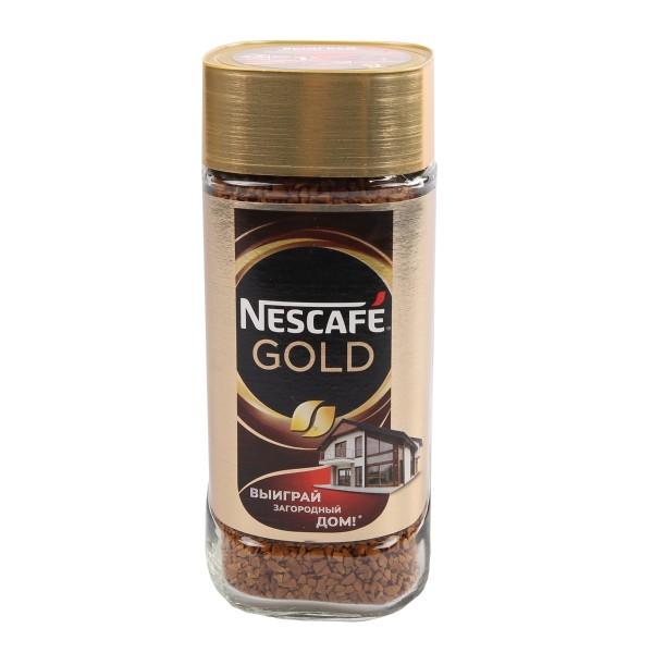 Кофе растовримый Nescafe Gold 95гр