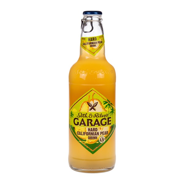 Напиток пивной Garage Seth&riley's Hard Calif  Pear 0,44л 4,6%