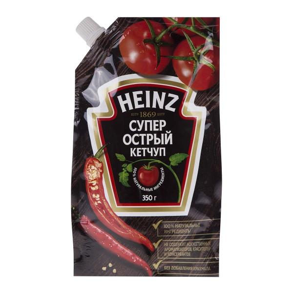 Кетчуп Супер острый Heinz 350гр