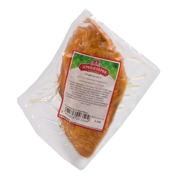 Грудка цыпленка-бройлера копчено-вареная Агромясопром