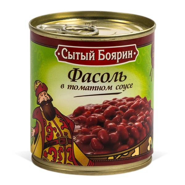 Фасоль красная в томатном соусе Сытый боярин 310гр