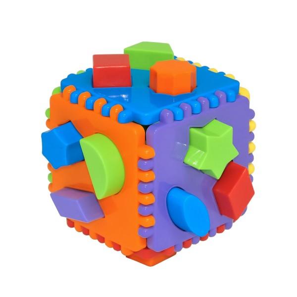 Сортер Educational cube Tigres 24 элемента
