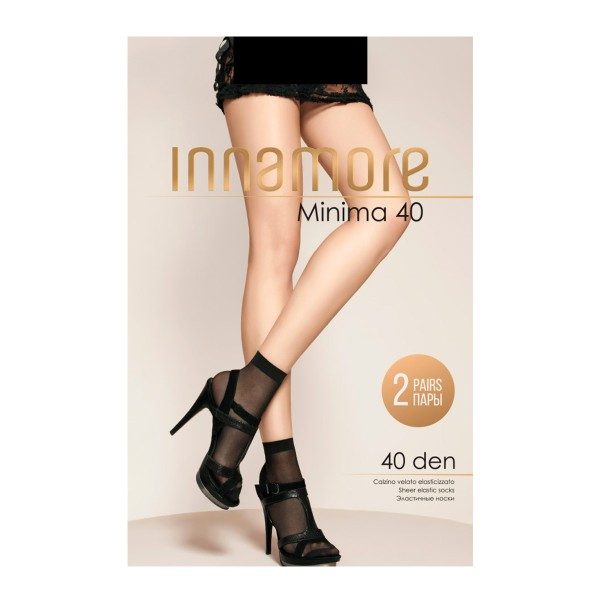 Носки Minima Innamore 40den 2пары nero