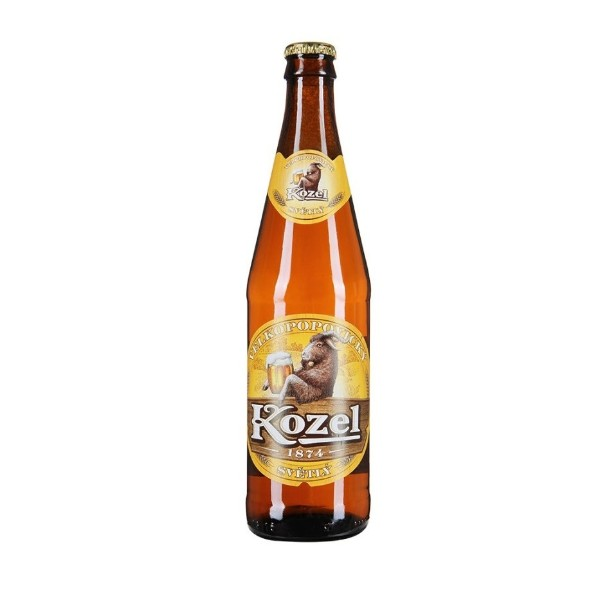 Пиво Козел Велкопоповицкий  светлое 0,45л 4%