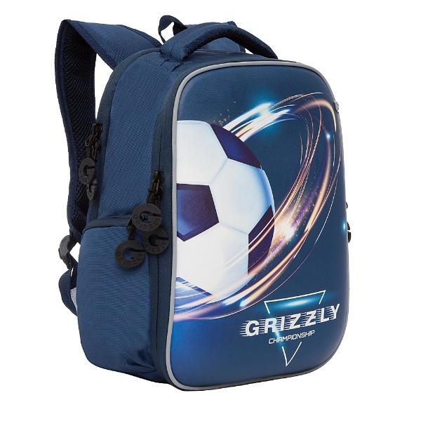 Рюкзак школьный Grizzly 26х36х17см