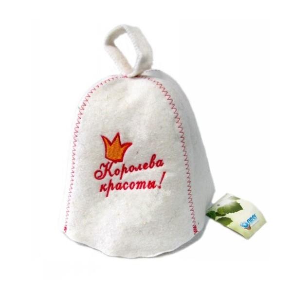 Шапка для бани и сауны Королева Красоты Obsi