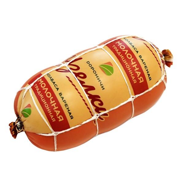 Колбаса вареная Узелки Молочная Традиционная Дороничи 500г