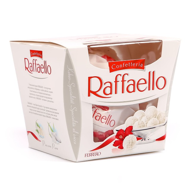 Конфеты Raffaello Ferrero 150гр