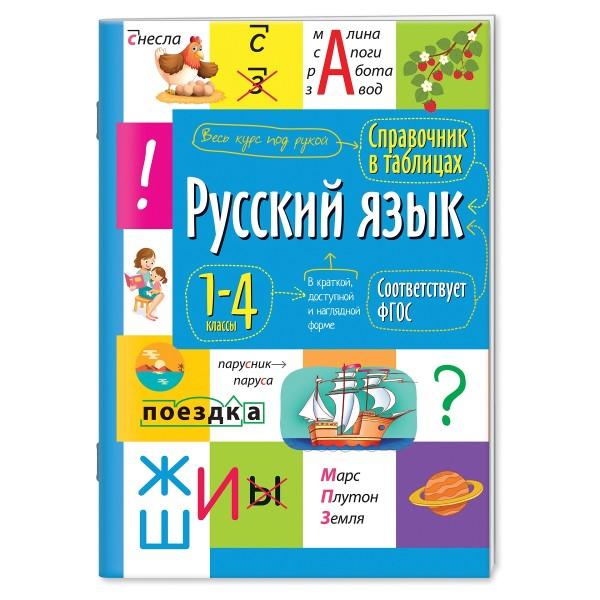 Английский язык. 1-4 классы. Справочная тетрадь в таблицах Айрис-пресс