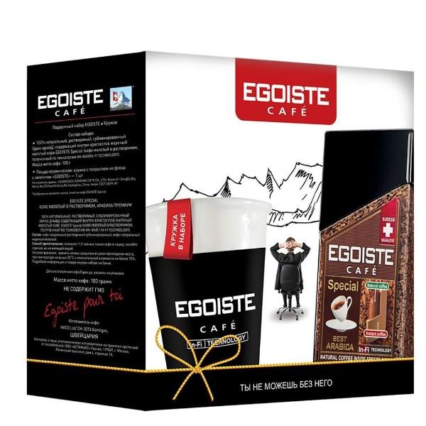 Кофе растворимый Egoiste Special 100г и чашка