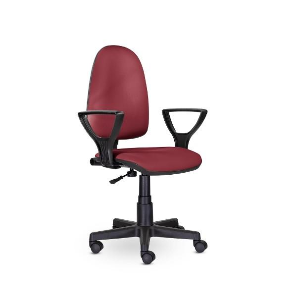 Кресло черно-красное Престиж Гольф Фест