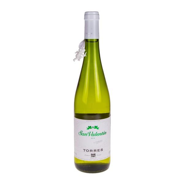 Вино белое полусухое San Valentin Parellada Catalunya 11-11,5% 0,75л