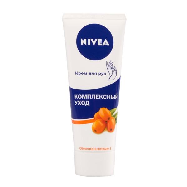 Крем для рук  Nivea Коплексный уход 75мл облепиха и витамин Е