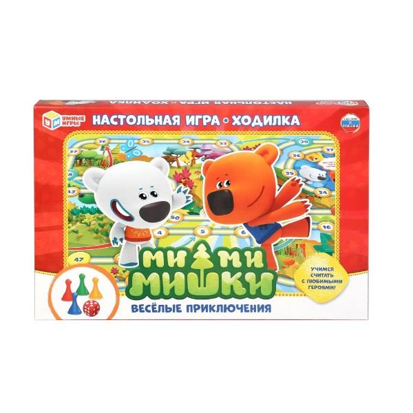 Игра настольная Ми-ми-мишки Веселые приключения Умка