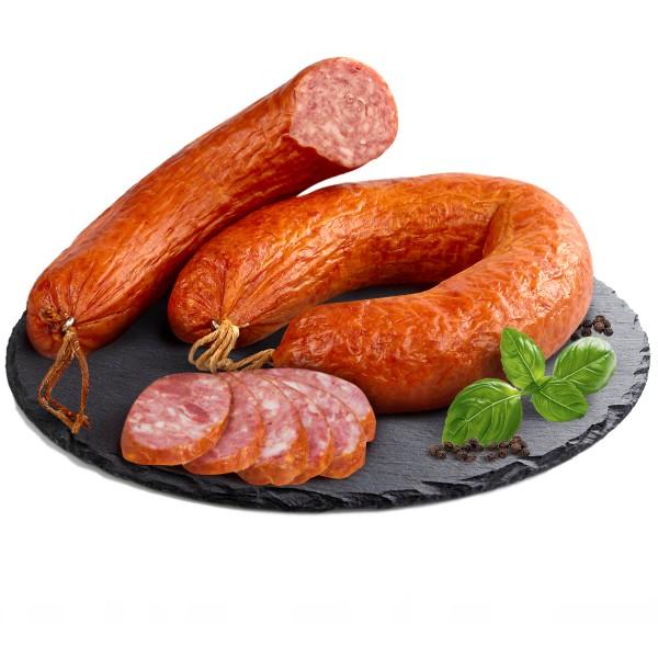Колбаса полукопченая Краковская категория Б Вологодский мясодел