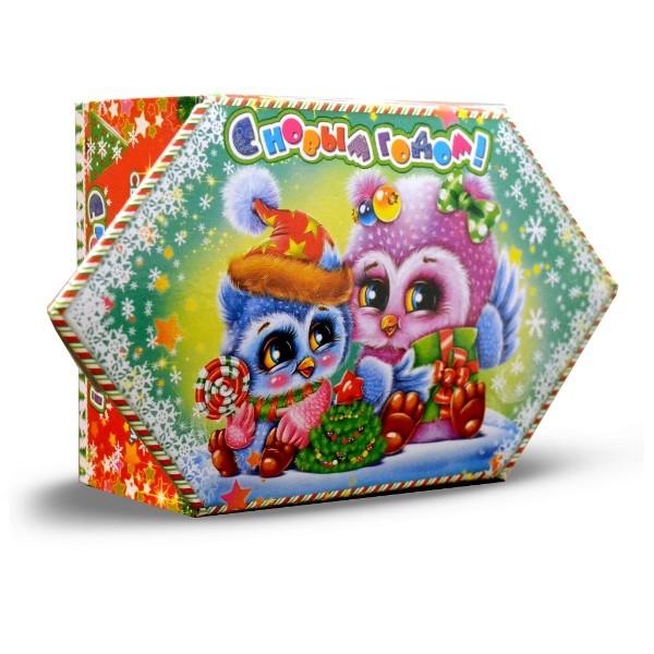 Подарок новогодний Конфетка Совята 200гр Подарки Макси