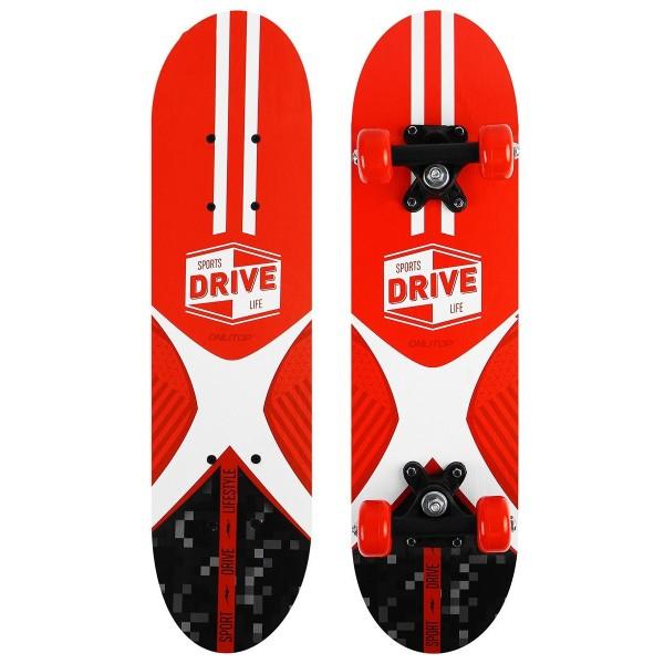 Скейтборд  подростковый Sports drive life 62х16см