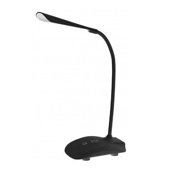 Светильник настольный Эра nled-428-3w-bk черный