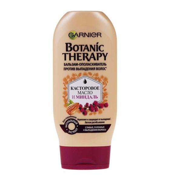 Бальзам-ополаскиватель Garnier Botanic Therapy 200мл касторовое масло и миндаль
