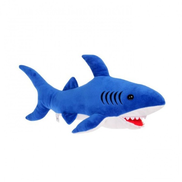 Мягкая игрушка Акула 30см