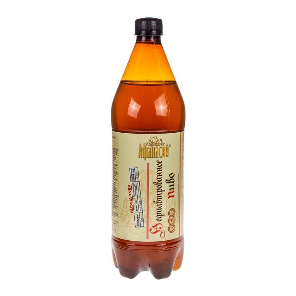 Пиво нефильтрованное Афанасий 4,1% 1л
